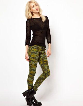 Tripp Nyc Camo Skinny Jeans Tripp