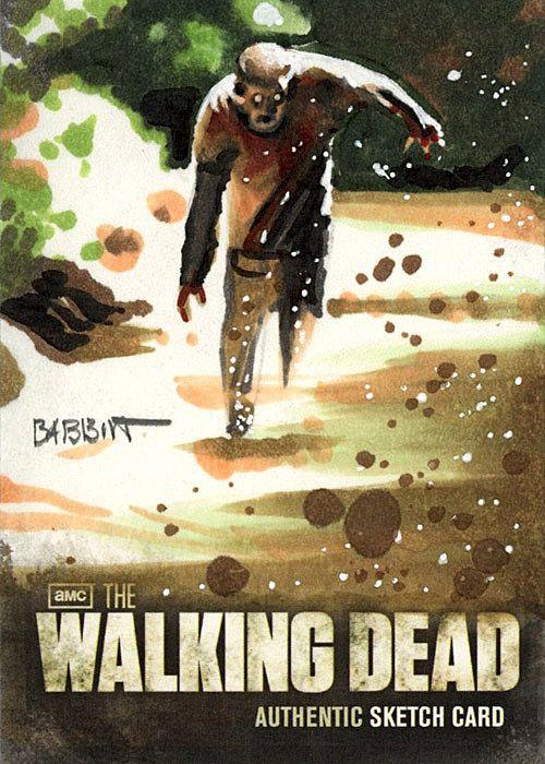 the walking dead autographs cards | The Walking Dead Season 2 Trading Cards Go Live Dec 11