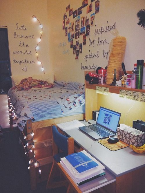 Dorm, Dorm room and The wall on Pinterest ~ 152346_Dorm Room Ideas Wall