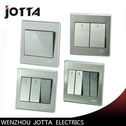 Luxury Wall Switch Panel Light Switch Gang Switch 2 Way Push Button 16a 110 250v 220v Light Switch Cool Things To Buy Wenzhou