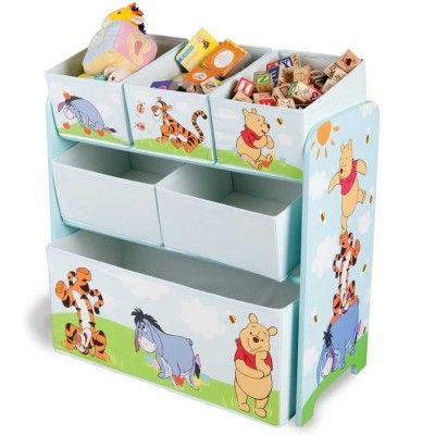 organizador de juguets winnie the pooh disney ideal para un dormitorio infantil disney bainba