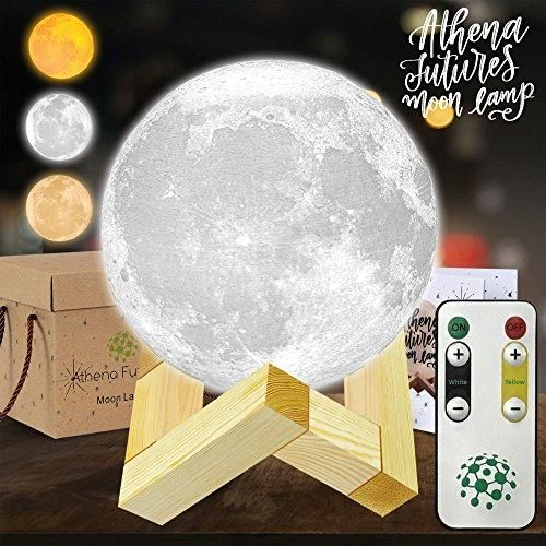 Moon Lamp Moon Light 3d Moon Lamp 3 Color Moon Night Light With Stand Mood Lamp Book Globe Light Cool Lamp 3 93 In U Globe Lights Cool Lamps Mood Lamps