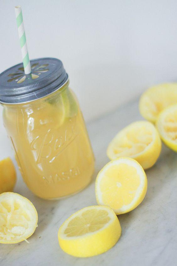 Recette citronnade limonade au citron maison bio facile for Maison mason