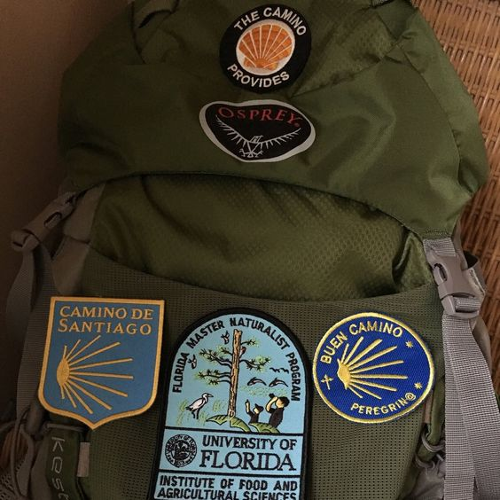 "Congrats to the June winner of the patch photo contest! Lynda writes, ""Lovin' my Camino Provides patch...It takes the lead on my pack."" 👏❤️😊   Post a review and share a photo of how you rock your patch for a chance to win the 2016 limited edition patch."