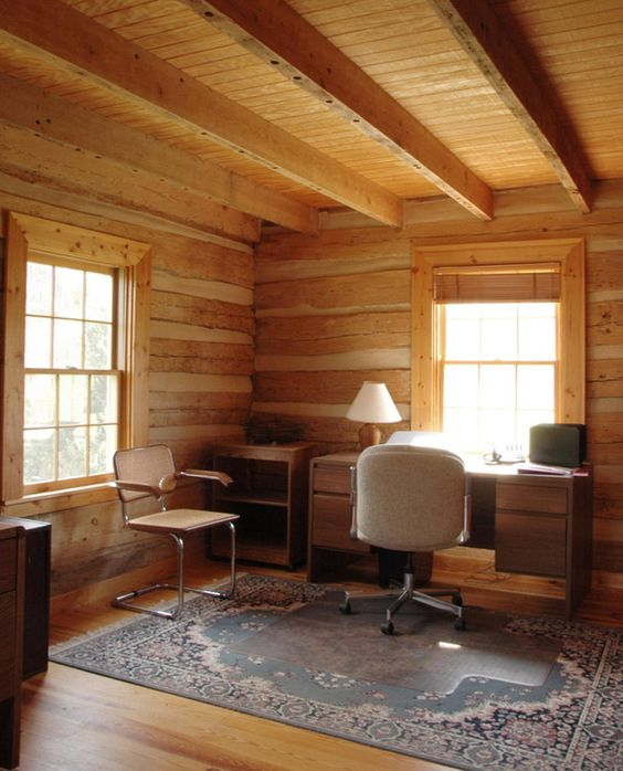 Pinterest the world s catalog of ideas for Log cabin window treatments