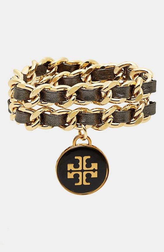 add some glam woven bracelet from tory burch stocking stuffers pinterest beautiful. Black Bedroom Furniture Sets. Home Design Ideas