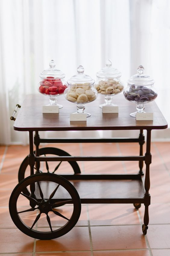 macaroon bar/this is a cute idea on a bigger scale for a wedding