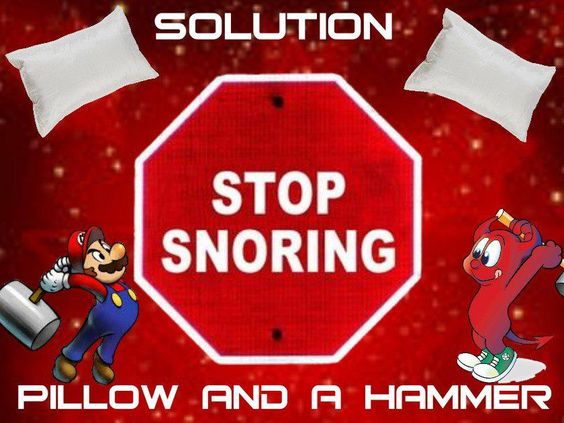 how to stop snoring quickly