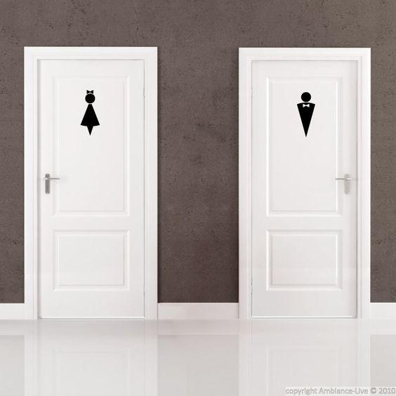 Bedroom Door Signs Bedroom Ceiling Ideas Bedroom Design Ideas Cheap Bedroom Colours Ideas Paint: Decals, Bathroom Wall Decals And Restroom Signs On Pinterest