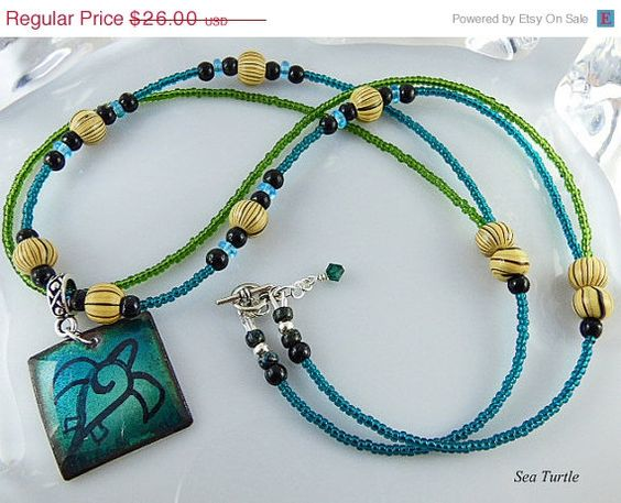 Christmas in July Sale 22 inch Blue Green by TheLittleEmptyNest