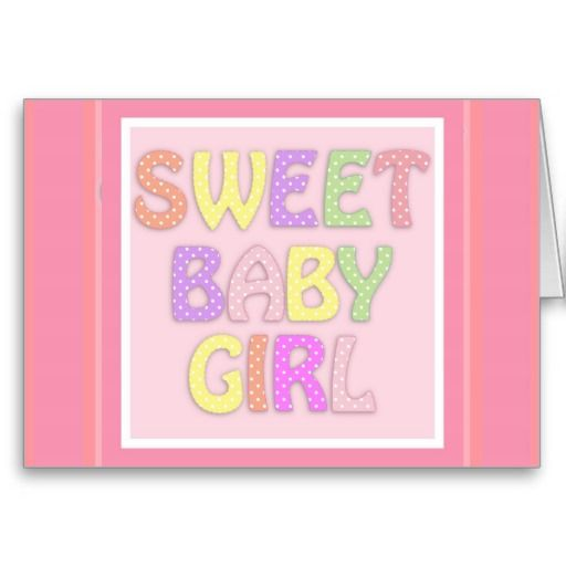 Baby Girl Cards  #Baby #Girl #Card