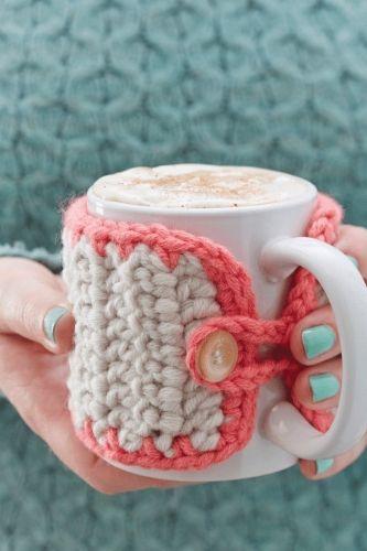 Chunky Mug Cosy Crochet Pattern (Free)