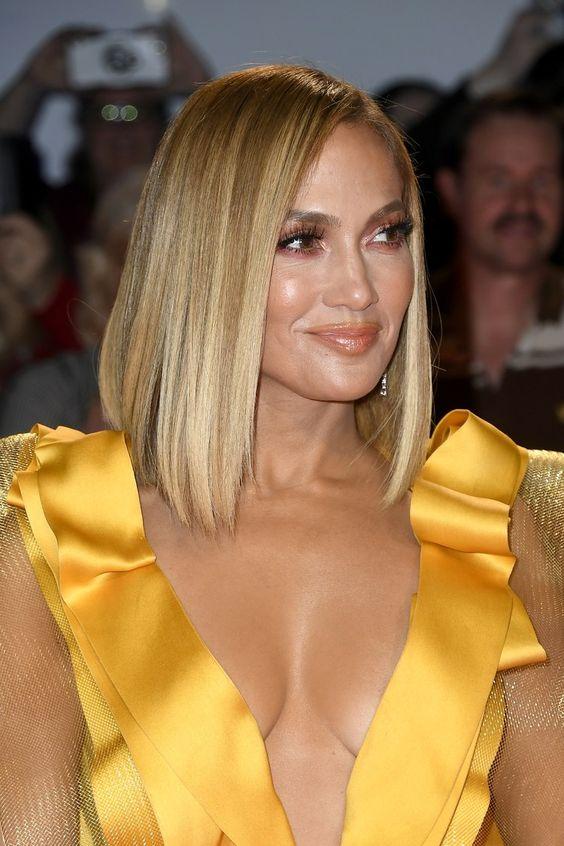 Sleek Bob von Jennifer Lopez: die Herbst-Trendfrisur