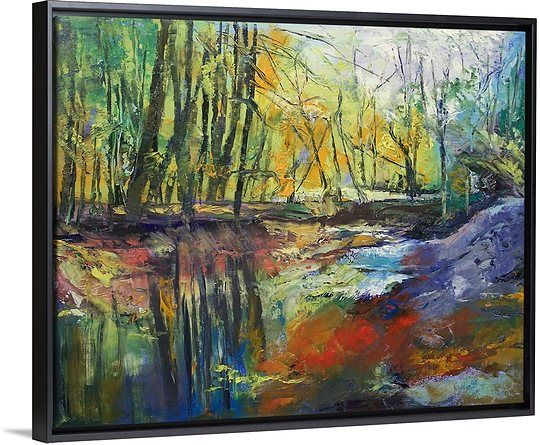 Little Sewickley Creek, customizable 48x38