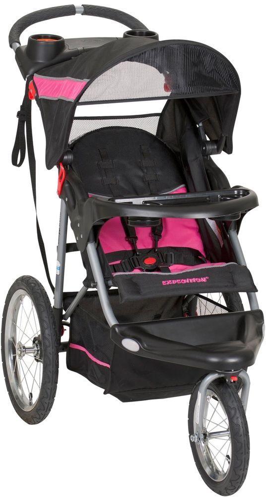 All Terrain Stroller 3 Wheel Jogging Lightweight Fitness Fold Up