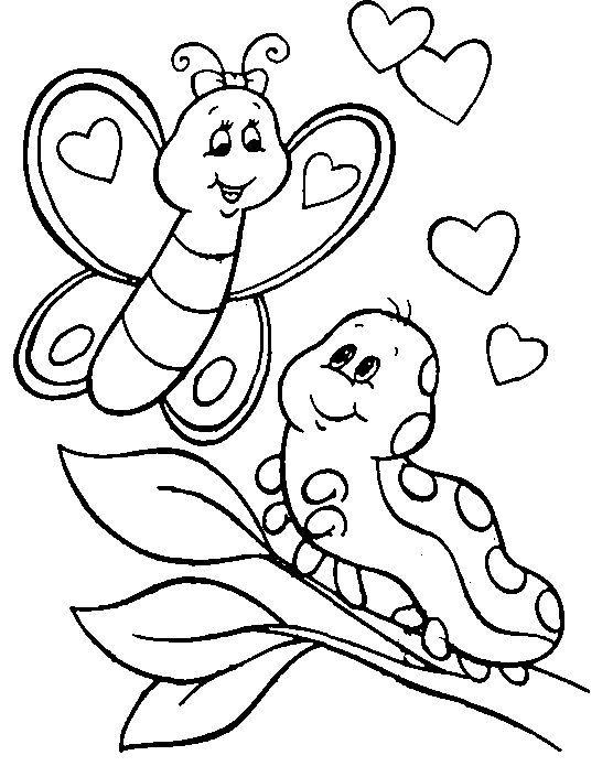 Free Printable Butterfly Coloring Pages For Kids Butterfly Coloring Page Animal Coloring Pages Valentine Coloring Pages