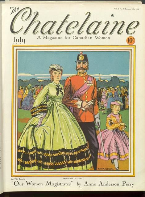 Chatelaine, July 1929