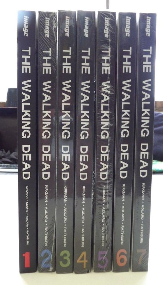 The Walking Dead Comics Hard Cover Books Set 1 7 Graphic Novel Lot Graphicnovel Walking Dead Comics The Walking Dead Book Set