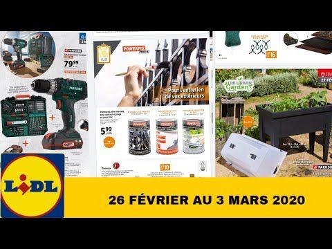 Arrivage Lidl 26 Fevrier 3 Mars 2020 Youtube En 2020 Marie Arrivage Lidl Lidl