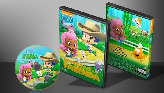 Bubble Guppies - Diversão Na Fazenda - Capa | VITRINE - Galeria De Capas - Designer Covers Custom | Capas & Labels Customizados