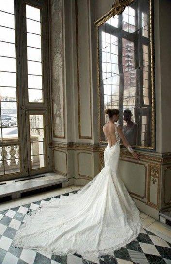 Abito da sposa a sirena Alessandra Rinaudo