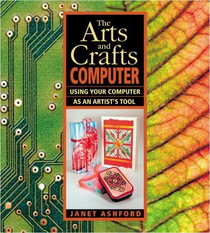 The Arts and Crafts Computer shows you how to use your personal computer, scanner, digital camera and color printer as artist tools to create beautiful graphics and artful objects for your home, school and work.