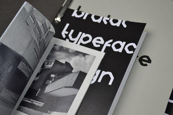 BRUTAL - Typeface Design on Behance