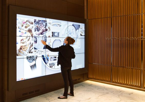 From touch screens to beacons, learn how technology and big data in retail is shaping the future of store design and the experience for customers.