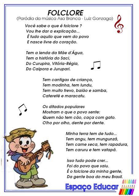 parodia asa branca folclore letra - Pesquisa Google