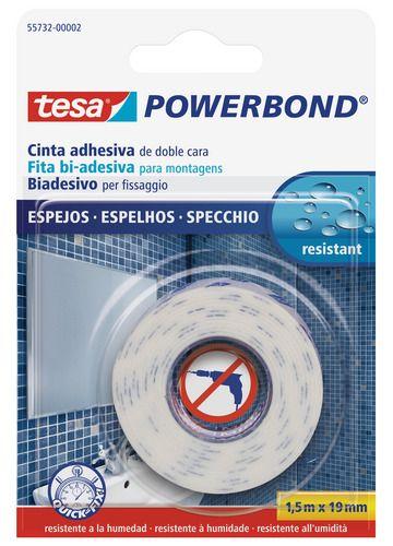 Cinta adhesiva de doble cara tesa powerbond para espejos - Como decorar espejos ...