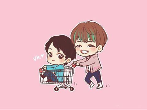taekook! OMO! V buying Kookies (see what I did there?)