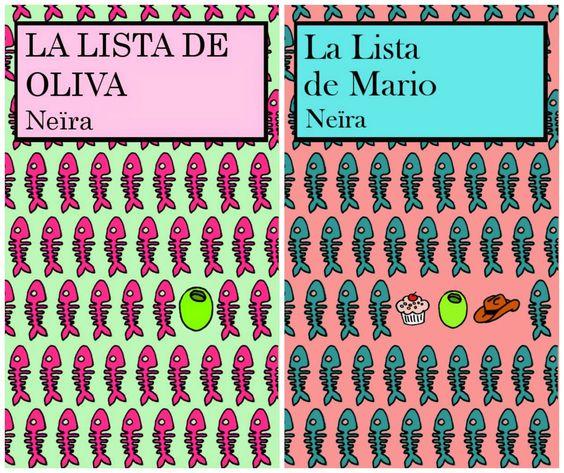 """La lista de Oliva"" y ""La lista de Mario"", de Neïra"
