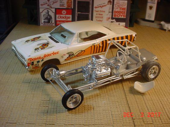 MPC 1968 Coronet R/T Feverbee Funny Car