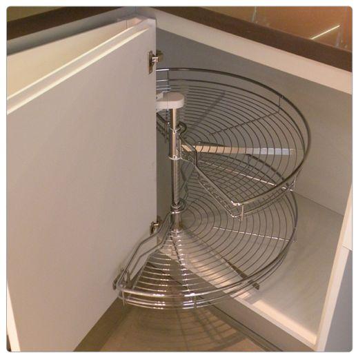 Estantes esquinero mi cocina mi casa pinterest - Mueble cocina esquinero ...