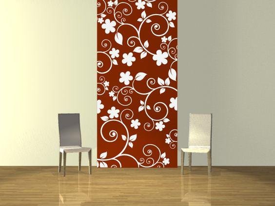 flores tapiz flores tapiz vinilo vinilo decorativo papel flores curvas decorativo papel para pared tapices