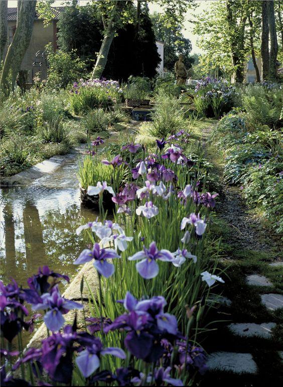 Jardin du curé, Potager de la Ferme aux Grives, enclot de la Ferme Thermale
