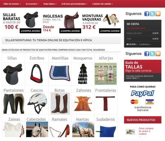SillasyMonturas.com #Eurekas! La mejor equipación para montar a caballo