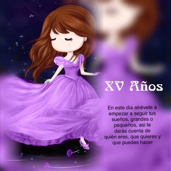 XV Años, tarjeta felicitacion quinceañera Felicitaciones Pinterest
