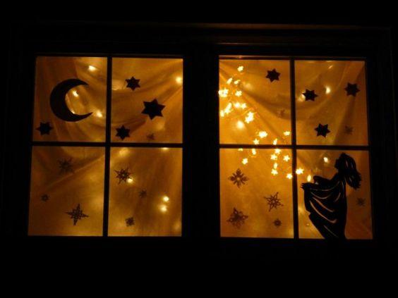 3 adventsfenster 2013 navidad pinterest. Black Bedroom Furniture Sets. Home Design Ideas