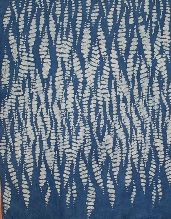 Batik and Indigo Experiments_ http://www.emmamcginn.com/2012/10/24/some-of-my-batik-and-indigo-experiments/#