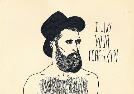 foreskin: Nicest Art, Homoerotic Art, The Fine Line, Beard Artwork, Posts, Gay Comics, Troyeste Vi, Anytypeofbodyhair Fun