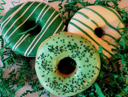 We have St. Patrick's Day Granola Cookies for your dog!