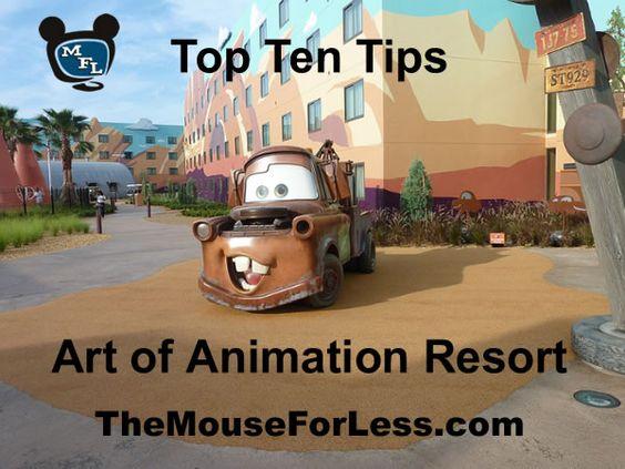 Tips for enjoying Disney's Art of Animation Resort!
