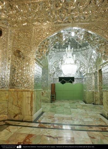 Arquitectura Islámica- Vista de pasillo de los espejos - Santuario de Fátima…
