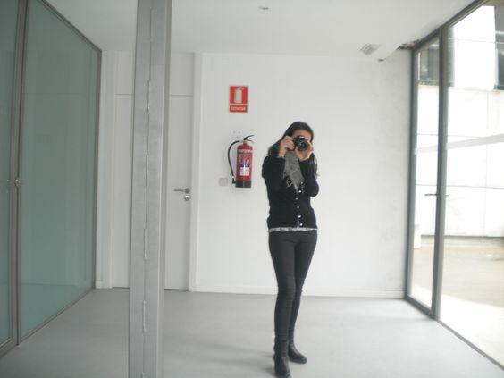 Fotógrafa fotografada (Diana)