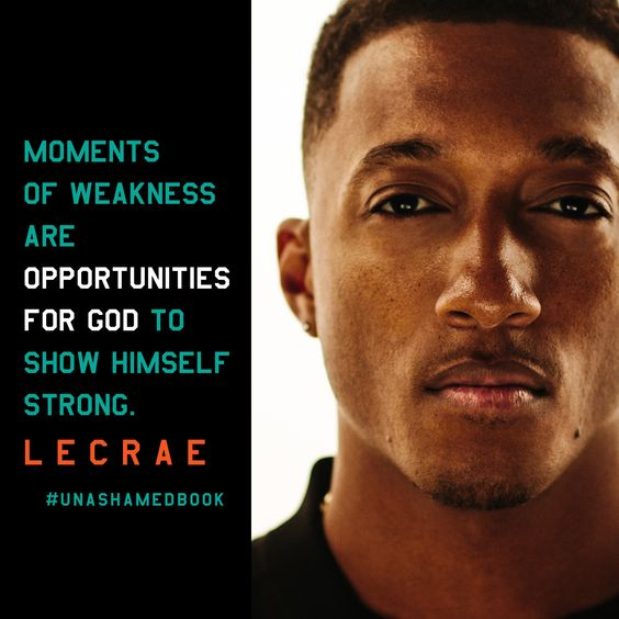 Unashamed, by Lecrae: The road to fame was bumpy for 2-time Grammy winning rap artist Lecrae. A survivor of childhood physical and sexual abuse, he struggled with STDs, drugs, alcoholism, and suicidal feelings---then Jesus claimed his heart. Candidly sharing journal entries and intimate details of his life, he models how to be a faithful Christian in a secular age.