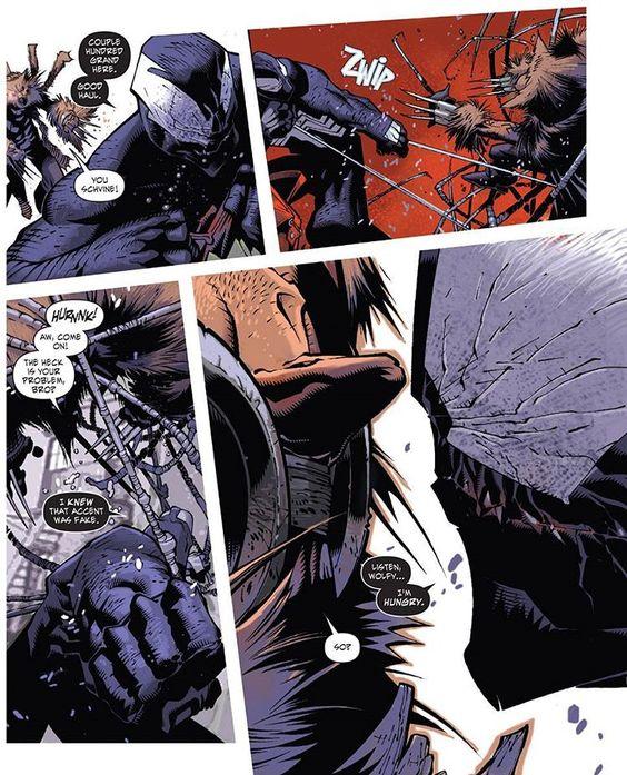 Listen Wolfy. . . I'm hungry! #darkreign #sinisterspiderman #SpiderMan #macgargan #venomsymbiote #venom #brianreed #chrisbachalo #marvelcomics #marvel #comics #marveluniverse #venomcomics