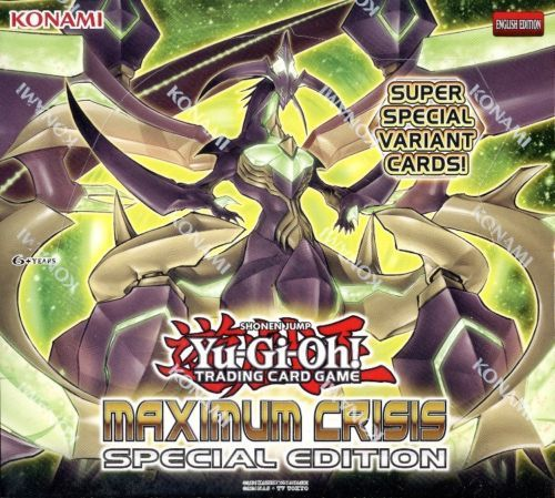 Yu Gi Oh Sealed Booster Packs Enam Yugioh Maximum Crisis Special Edition Booster Box Blowout Cards Buy It Now Only Enam Lima On Ebay Pinterest