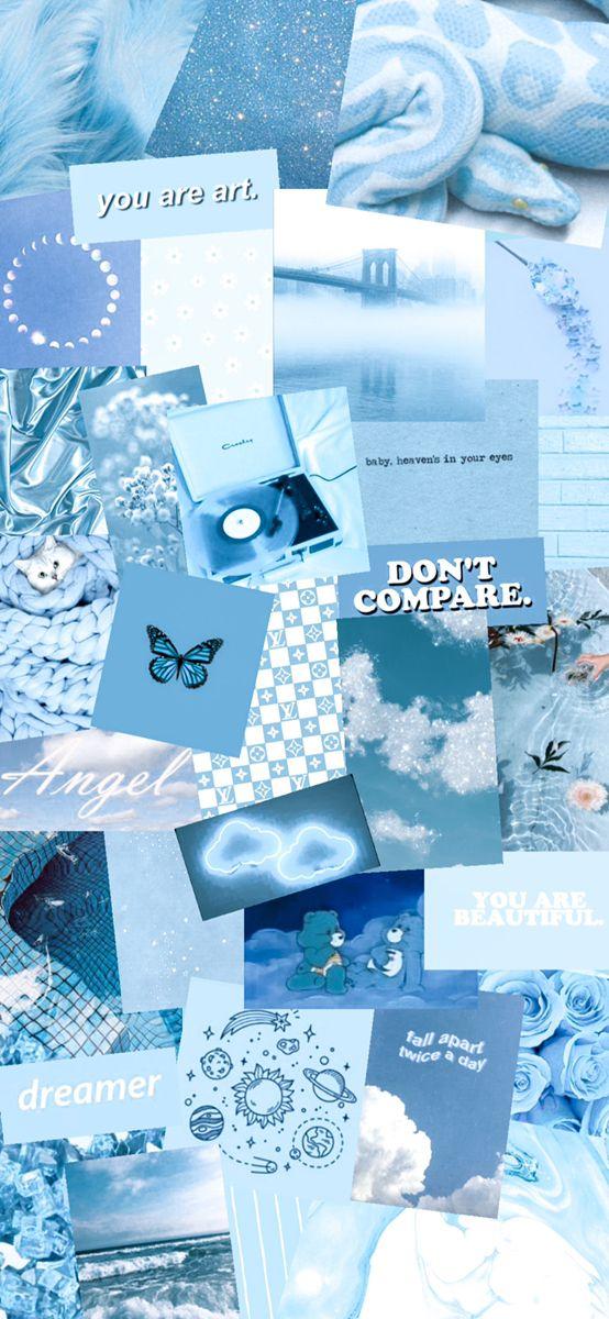Sky Blue Wallpaper Blue Wallpaper Iphone Blue Aesthetic Pastel Aesthetic Iphone Wallpaper