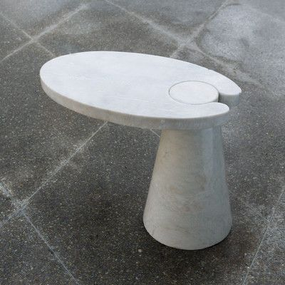 Global Views Cone Cantilever End Table